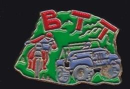 65022-Pin's-BTT. Moto Trial.auto Tout Terrain. - Motorfietsen