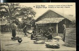 Carte Neuve N° 42. Vue 19. Emballage De Poisson Sec Dans Le Mayumbe - Entiers Postaux