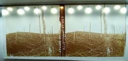GUERRE 14-18 LA CHAPELOTTE APRES LES COMBATS VOSGES MEURTHE-ET-MOSELLE WW1 PLAQUE DE VERRE STEREOSCOPIQUE WAR L.S.U. - Diapositiva Su Vetro