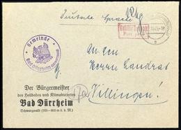 1945, Französische Zone Baden, Brief - Zone Française