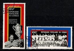 Congo 1973 Yv PA 143/44 -  Obl./used - Oblitérés
