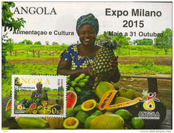 ANGOLA 2015 Expo Milano Food And Culture - Angola