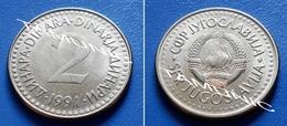 YUGOSLAVIA SFR 2 Dinara 1991 - Yugoslavia