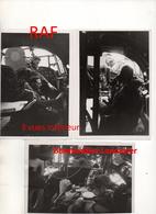3 Photos Originales RAF Bombardier Lancaster  Guerre WWII 1939 - 1945 - 1939-45