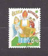 Czech Republic 2002 ⊙ Mi 335 Sc 3181 Adolf Born. St. Nicholas's Day. Tschechische Republik. C2 - Czech Republic