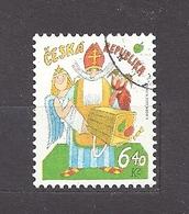 Czech Republic 2002 ⊙ Mi 335 Sc 3181 Adolf Born. St. Nicholas's Day. Tschechische Republik. C3 - Czech Republic