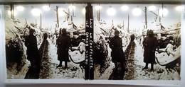 GUERRE 14-18 LA CHAPELOTTE UN BOYAU TRANCHEE MILITAIRE VOSGES WW1 PLAQUE DE VERRE STEREOSCOPIQUE WAR L.S.U. - Glass Slides