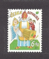 Czech Republic 2002 ⊙ Mi 335 Sc 3181 Adolf Born. St. Nicholas's Day. Tschechische Republik. C4 - Czech Republic