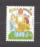 Czech Republic 2002 ⊙ Mi 335 Sc 3181 Adolf Born. St. Nicholas's Day. Tschechische Republik. C5 - Czech Republic