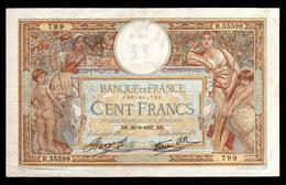 100F Luc Olivier Merson Modifié 30.09.1937 - TTB - Fay : 25.2 - 100 F 1908-1939 ''Luc Olivier Merson''
