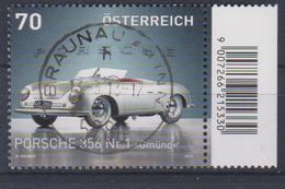 """Österreich 2013: """"Porsche 356"""" Gestempelt (siehe Foto/Scan) - 2011-... Gebraucht"""