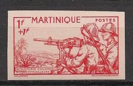 Martinique - 1941 - N°Yv. 186a - Défense De L'empire - Non Dentelé / Imperf. - Neuf Luxe ** / MNH / Postfrisch - Martinique (1886-1947)