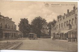 REF1155/ PC-PK Wuustwezel Hotel Aan De Grens Naar Rechts Station Van De Tram ,  Passagiersbus MINT - Wuustwezel
