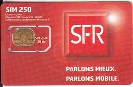 FRANCE - Sim 250, SFR GSM, Chip F6, Sample - Frankreich