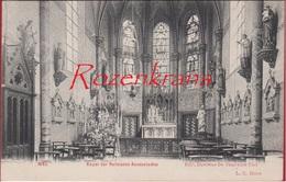 Niel Binnenzicht Kapel Der Zusters Religieuzen Annonciaden ZELDZAAM Uitg. Ed. Duvivier-De Brauwere (In Zeer Goede Staat) - Niel