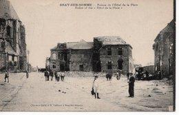 BRAY SUR SOMME - RUINES DE L'HOTEL DE LA PLACE - Bray Sur Somme