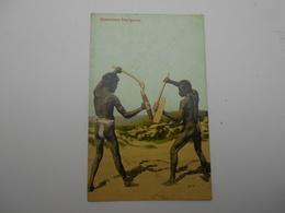 Cpa Aborigenes Queensland Aboriginals Australie - Aborigenes