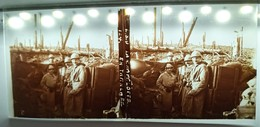 GUERRE 14-18 LA CHAPELOTTE EN TRANCHEE SOLDATS MILITAIRES VOSGES WW1 PLAQUE DE VERRE STEREOSCOPIQUE WAR L.S.U. - Glass Slides