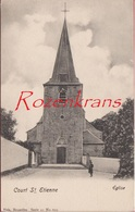 Court-Saint-Etienne Eglise Elise RARE Animee (In Zeer Goede Staat - En Tres Bon Etat) Waals-Brabant Brabant Wallon. - Court-Saint-Etienne