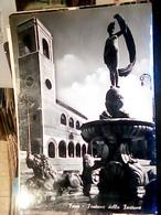 FANO-PIAZZA XX SETTEMBRE-FONTANA DELLA FORTUNA CONCHIGLIA      VB1957 HP8690 - Fano