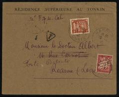 1931, Französisch Indochina Allgemeine Ausgaben, 164 U.a., Brief - Timbres