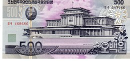 North Korea P.44 500 Won 2007 Unc - Korea, Noord
