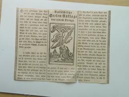 Holy Card 66 Santini Heilgenbild Holycard Images Pieuse Religieuse Image Epinal 1850 - Santini