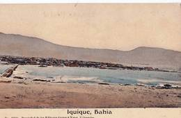 CPA   Iquique. (Chili)  Bahia  Circa  1910  Muchos Velero  N° 3010 B  Ed Grimm & Kern Valparaiso - Chili