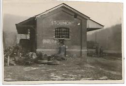 2WK WW2 WWII Gare De Stoumont Après La Bataille Des Ardennes Gare Bahnhof - 1939-45