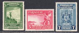 Paraguay 1942 Mint No Hinge, Sc# ,SG ,Mi 537-539 - Paraguay