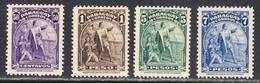 Paraguay 1943 Mint No Hinge, Sc# 399-402 ,SG ,Mi - Paraguay