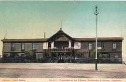 CPA   Iquique.(Chili) Circa  1910  Chalet Suisse Restaurant   N° 4133  Ed Grimm & Mattensohn Valparaiso - Chili