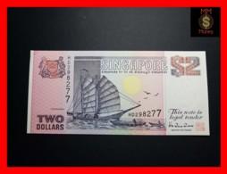 SINGAPORE 2 $ 1998 P. 37  UNC - Singapore