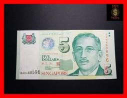 SINGAPORE 5 $ 1999 P. 39  UNC - Singapore