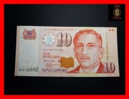 SINGAPORE 10 $ 1999 P. 40   VF++ - Singapour