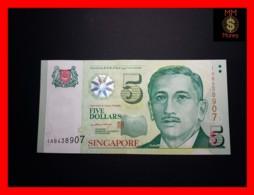 SINGAPORE 5 $ 2005 P. 47 A  UNC - Singapore