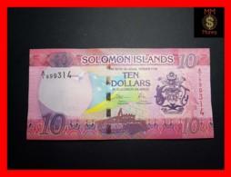 SOLOMON 10 $ 2017 P. 33   UNC - Solomon Islands