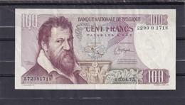Belg 100 Fr Lombard Vf - [ 2] 1831-... : Royaume De Belgique