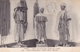 GALERIE ETHNOGRAPHIQUE: KABYLE, MEZAB, MAROCAIN. HOTEL DES INVALIDES, MUSEE DE L'ARMEE. PARIS CPA OBLIT TBE -LILHU - Museum