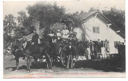 40 - LANDES - La Reine Des Résiniers Sur Son Char Avec Ses Demoiselles D'honneur- Ed. F. Bernède à Morceux N° 101 - 1929 - Francia