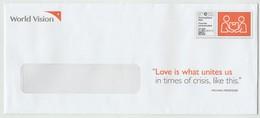 2020 Canada World Vision COVID-19 Used Full Envelope Beautiful - Non Classificati