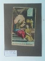 Holy Card 84 Santini Heilgenbild Holycard Images Pieuse Religieuse Image Epinal 1850 S. Maria Mary Madelaine - Andachtsbilder