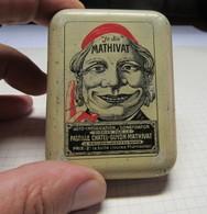 Boite En Tole Pastille Chatelguyon Mathivat - Boxes