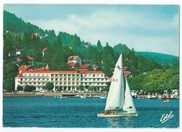 31105W - GERARDMER (Vosges) - Les Rives Du Lac - Voilier, Grand Hôtel Du Lac - Animée - Non écrite -Scan Recto-verso - Gerardmer