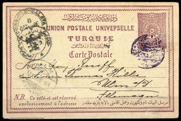 1898, Türkei, P 16 C, Brief - Turquie