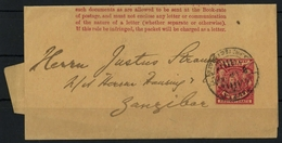1896, Britisch Ostafrika, S 4, Brief - Africa (Varia)