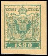 1890. ÖSTERREICH. INTERNATIONALER BRIEFMARKENAUSSTELLUNG IN WIEN. Imperforated.  () - JF360998 - 1850-1918 Imperium