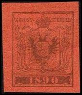 1890. ÖSTERREICH. INTERNATIONALER BRIEFMARKENAUSSTELLUNG IN WIEN. Imperforated.  () - JF361000 - 1850-1918 Imperium