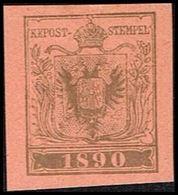 1890. ÖSTERREICH. INTERNATIONALER BRIEFMARKENAUSSTELLUNG IN WIEN. Imperforated.  () - JF361002 - 1850-1918 Imperium