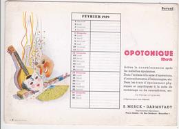 Buvard Publicitaire (médicament) - Advertising